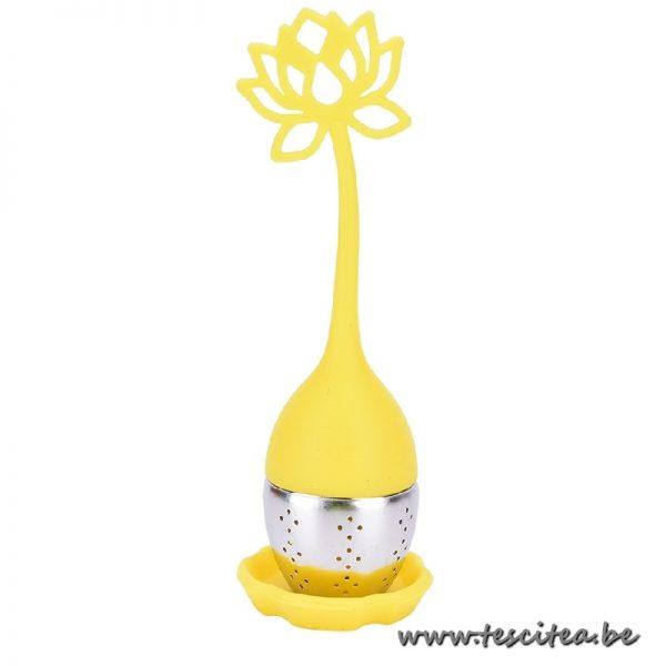 Theezeef lotus - geel