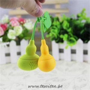 Zeef kalebas geel en groen